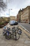 Ruas em Edimburgo Fotografia de Stock Royalty Free
