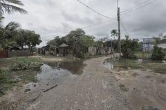 Ruas em Thondaimanaru Sri Lanka imagem de stock
