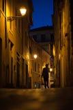 Ruas estreitas de Roma Imagem de Stock Royalty Free