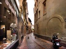 Ruas estreitas de Toulouse Fotos de Stock Royalty Free