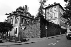 Ruas europeias velhas Foto de Stock