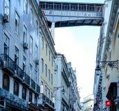 Ruas históricas velhas com arquitetura fina Foto de Stock