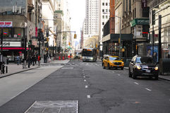 Ruas Manhattan de New York City Fotos de Stock Royalty Free