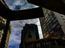 Ruas, Sao Paulo imagem de stock royalty free