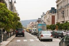 Ruas TBILISI, GEÓRGIA Imagens de Stock