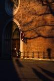 Ruas velhas da cidade de Riga fotografia de stock royalty free