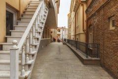 Ruas velhas em Tbilisi Imagem de Stock