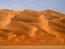 RUB Al Khali 22 Foto de Stock Royalty Free