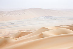 Rub al Khali Desert at the Empty Quarter, in Abu Dhabi, UAE Royalty Free Stock Images