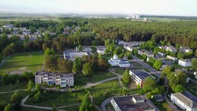 Ruba urban village. The urban settlement in the Vitebsk district of the Vitebsk region of Belarus, which was subordinate to the administration of the stock footage