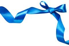 Ruban bleu Image libre de droits