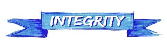 ruban d'intégrité illustration libre de droits