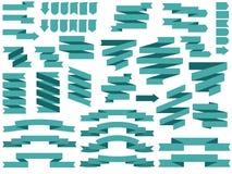 Ruban de bannière de vecteur Icône de vecteur de rubans illustration de vecteur