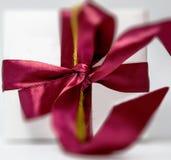 Ruban de cadeau Photos stock