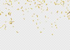 Ruban de calibre de fond de célébration Étincelles d'or S élégant Photo stock