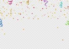 Ruban de calibre de fond de célébration Étincelles d'or S élégant Photos stock