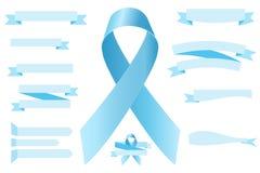 Ruban de conscience de cancer de la prostate Photos stock