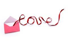 Ruban de l'amour Image stock