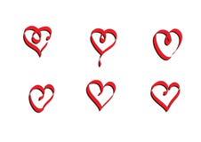 Ruban de vecteur de coeur conçu par Digital illustration de vecteur