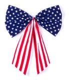 Ruban et arc patriotiques Image stock