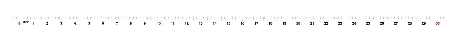 ruban m?trique de r?gle de 30 pouces avec 0 inscriptions de 1 pouce Grille m?trique