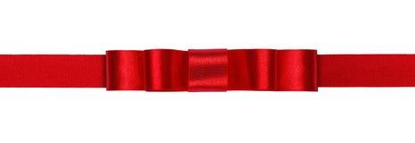 Ruban rouge Photographie stock libre de droits