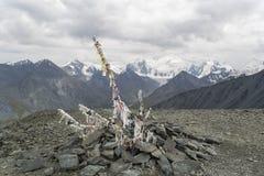 Rubans bouddhistes image libre de droits