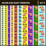 rubans de bébé verticaux Image stock