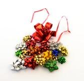 Rubans et cadeau d'arcs Image stock