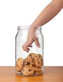 Rubare i biscotti Immagini Stock Libere da Diritti