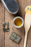 Rubber adhesive Royalty Free Stock Photography