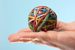 Rubber ball Stock Image