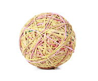 Rubber ball. USE FOR LAYOUT, DESIGN, & BACKGROUND Stock Photo