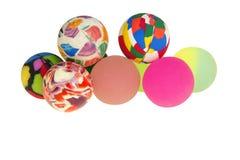 Rubber ballen Royalty-vrije Stock Afbeeldingen