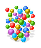 Rubber balls Royalty Free Stock Image