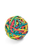 Rubber band ball Stock Photos