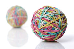 Rubber band ball stock photos
