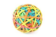 Rubber band ball Royalty Free Stock Photos