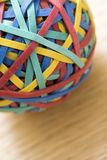 Rubber band ball. Stock Photography