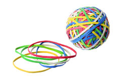 Rubber Band Ball Royalty Free Stock Photo