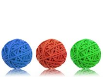 Rubber Band Ball Stock Photography