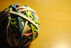 Rubber Band Ball Royalty Free Stock Photos