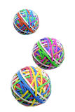 Rubber Band Balls Royalty Free Stock Photos