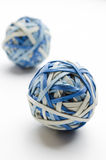 Rubber Band Balls Stock Image