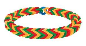 Rubber Band Bracelet Royalty Free Stock Photos