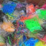 Rubber band bracelets Stock Photo