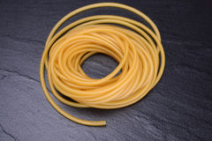 Rubber band to make slingshot. Royalty Free Stock Images