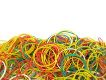 Rubber bands Royalty Free Stock Images