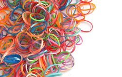 Rubber bands Stock Photos
