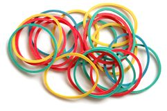 Rubber Bands royalty free stock photography